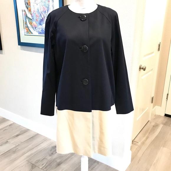 Kate Spade Color Block Navy&Cream Jacket - NWT♠️